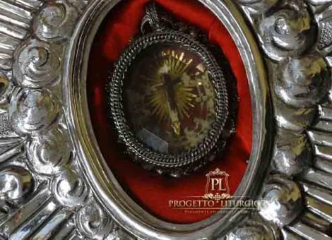 reliquia reliquiario argento
