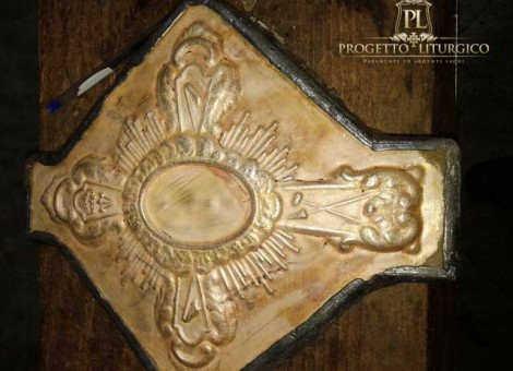 reliquiario argento
