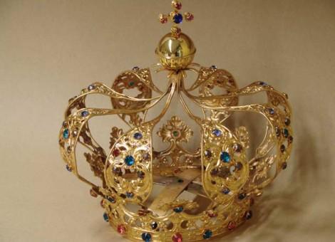 restauro corona della madonna